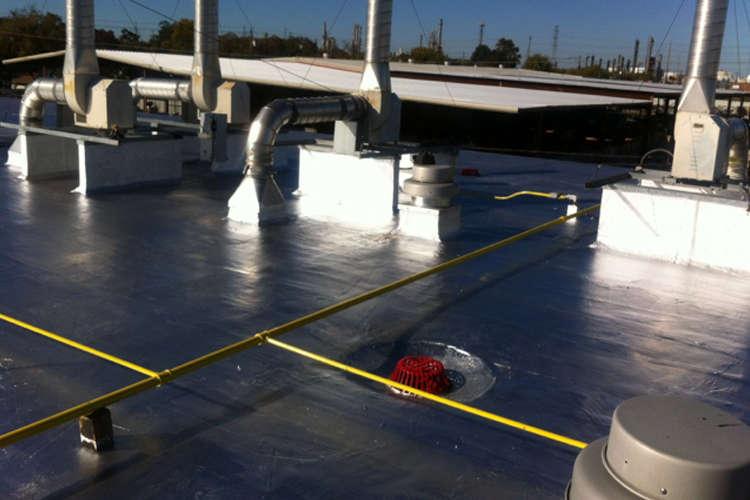 Dallas Industrial Warehouse Roof Renovation Repair